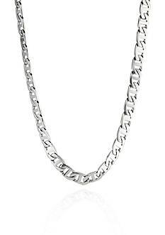Belk & Co. Men's Stainless Steel Necklace