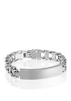 Belk & Co. Men's Stainless Steel ID Bracelet