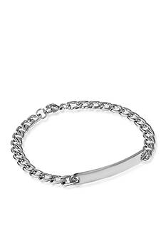 Belk & Co. Men's Stainless Steel ID Bracelet