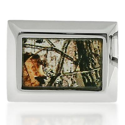 Jewelry & Watches: Belk & Co. Fine Jewelry: Light Brown Belk & Co. Mens Stainless Steel Camouflage Cufflinks