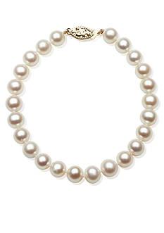 Amour de Pearl Freshwater 7-inch Pearl Bracelet