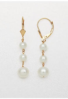 Belk & Co. Freshwater Pearl Dangle Earrings