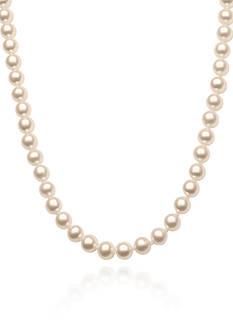 Belk & Co. Freshwater Pearl 24-in. Strand Necklace