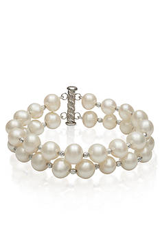 Belk & Co. Sterling Silver Freshwater Pearl Bracelet