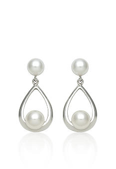 Belk & Co. Sterling Silver Freshwater Pearl Dangle Earring