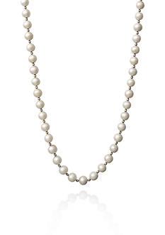 Belk & Co. Sterling Silver Fresh Water Pearl Necklace