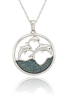 Belk & Co. Dolphin Pendant in Sterling Silver