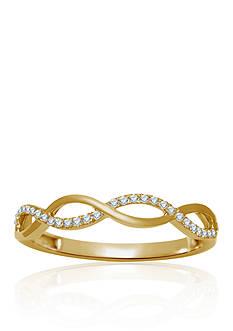 Belk & Co. Diamond Ring in 10k Yellow Gold