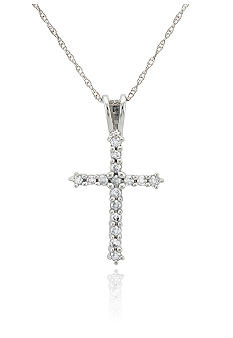 Belk & Co. Diamond Cross Pendant