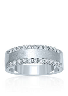 Belk & Co. Diamond Band in 14k White Gold