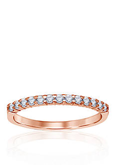 Belk & Co. 1/4 ct. t.w. Diamond Anniversary Band in 14k Rose Gold