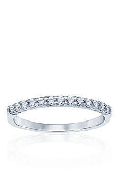 Belk & Co. 1/4 ct. t.w. Diamond Anniversary Band in 14k White Gold