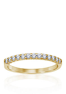 Belk & Co. 1/4 ct. t.w. Diamond Anniversary Band in 14k Yellow Gold