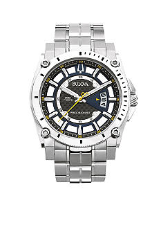 Bulova Precisionist Champlain Collection Stainless Steel Watch