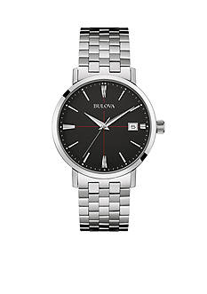 Bulova Mens Stainless Steel Watch