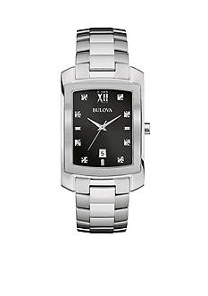 Bulova Men's Stainless Steel Watch
