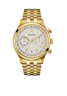 Bulova Men's Gold-Tone Chronograph Watch