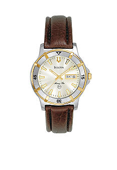 Bulova Men's Marine Star Stainless Steel Watch