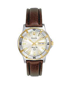 Bulova Men's Marine Star Stainless Steel Watch