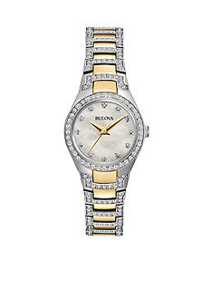 Bulova Women's Crystal Watch