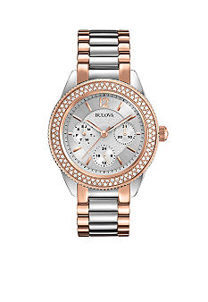 Bulova Ladies' Crystal Watch