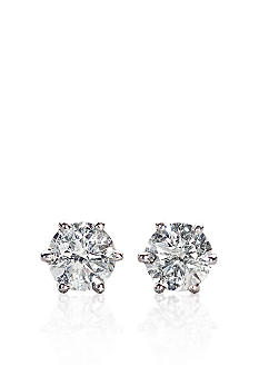 Belk & Co. 1/3 ct. t.w. Diamond Solitaire Earrings