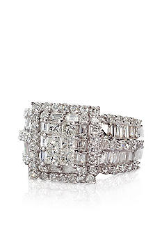 Belk & Co. Diamond Cluster Ring in 14k Gold