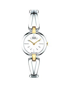 ESQ Movado Two Tone Corbel Watch