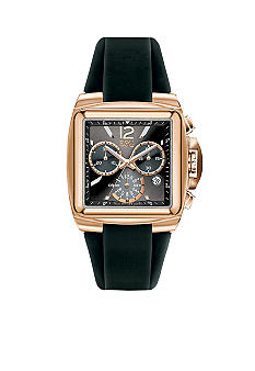 ESQ Movado Mens Rose Gold Chronograph Watch
