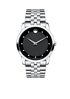 Movado Men's Black Museum Watch