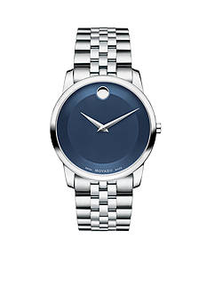 Movado Men's Blue Museum Classic Watch
