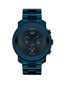 Movado Men's Bold Blackout Chronograph Black IP Watch