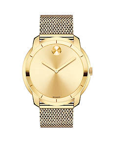 Movado Men's Bold Yellow Gold-Tone Watch
