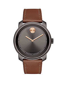 Movado Men's Bold Brown Ion-Plated Watch