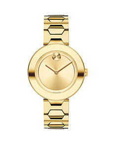 Movado Women's Bold Yellow Gold-Tone Watch