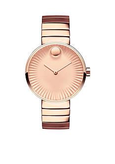 Movado Women's Rose Gold-Tone Edge Watch