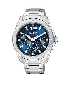 Citizen EDV Men's Stainless Steel Chronograph Watch