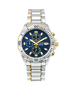 Citizen EDV Men's Two-Tone Chronograph Watch