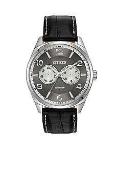 Drive from Citizen Eco-Drive Men's Dress Stainless Steel with Day and Date Sub Dials Watch