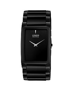 Citizen Eco-Drive Black Ceramic Stiletto Blade