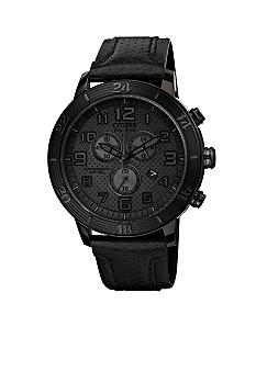 Citizen Drive from Citizen Eco-Drive Unisex Black Ion Plated Chronograph Watch