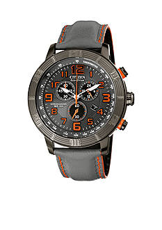 Drive from Citizen Eco-Drive Men's BRT Grey IP Stainless Steel Chronograph Watch