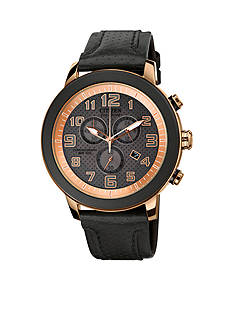 Drive from Citizen Eco-Drive Unisex BRT Black IP Stainless Steel Chronograph Strap Watch