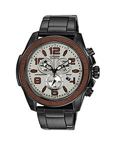 Citizen Men's BRT Black IP Chronograph Watch