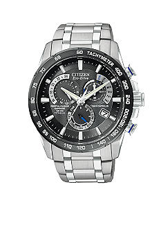 Citizen Eco-Drive Titanium World Perpetual Chrono AT