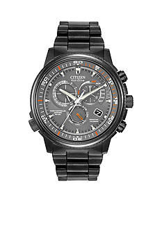Drive from Citizen Eco-Drive Men's Black IP Nighthawk A-T Watch