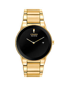 Citizen Men's Eco-Drive Gold Tone Stainless Steel Axiom Watch