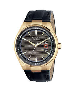 Citizen Men's Drive Rose Gold Tone Watch