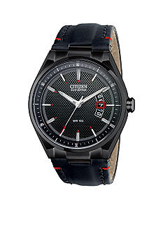 Citizen Men's Drive Black Ion Plated Watch