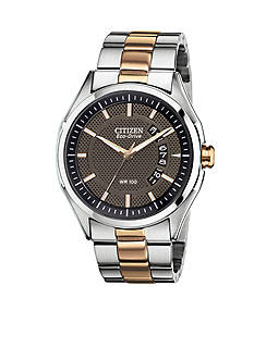 Drive from Citizen Eco-Drive Men's Drive Two Tone Rose Gold Watch